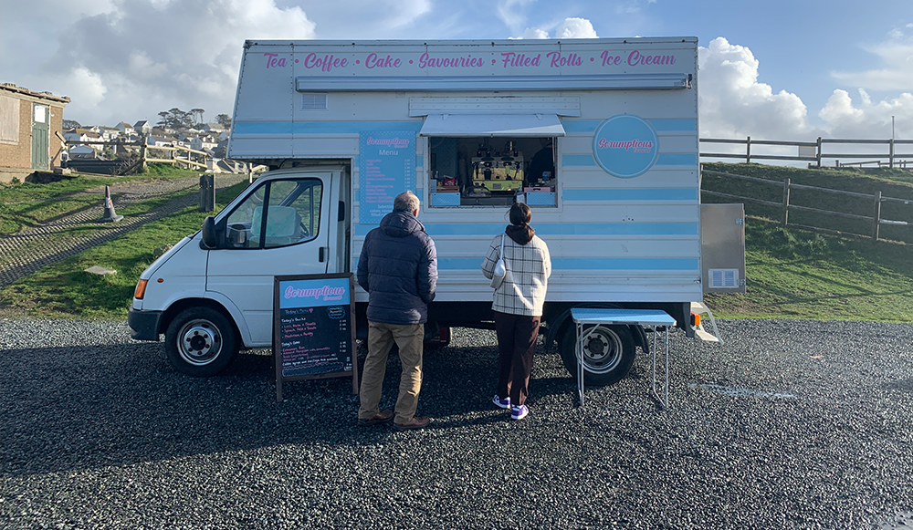 Example of catering van conversion