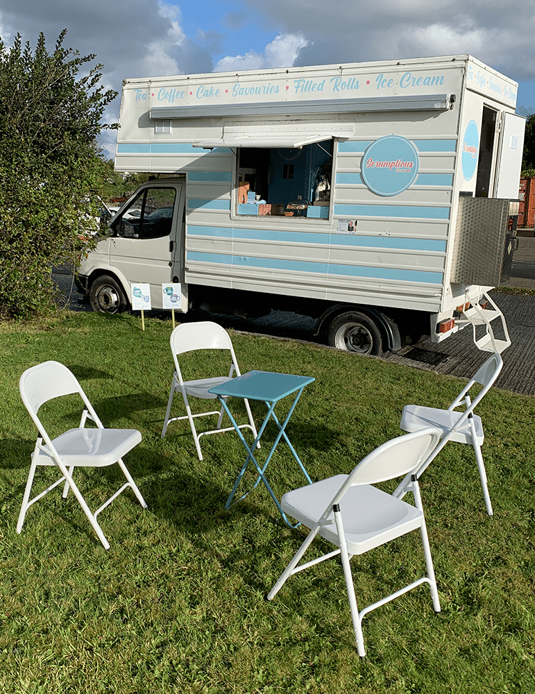 Example of a catering van conversion
