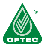Oftec Logo, approved to install oil